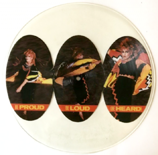 "Toyah - Be Proud Be Loud (Be Heard) (12"") (Picture Disc) (EX/NM)"